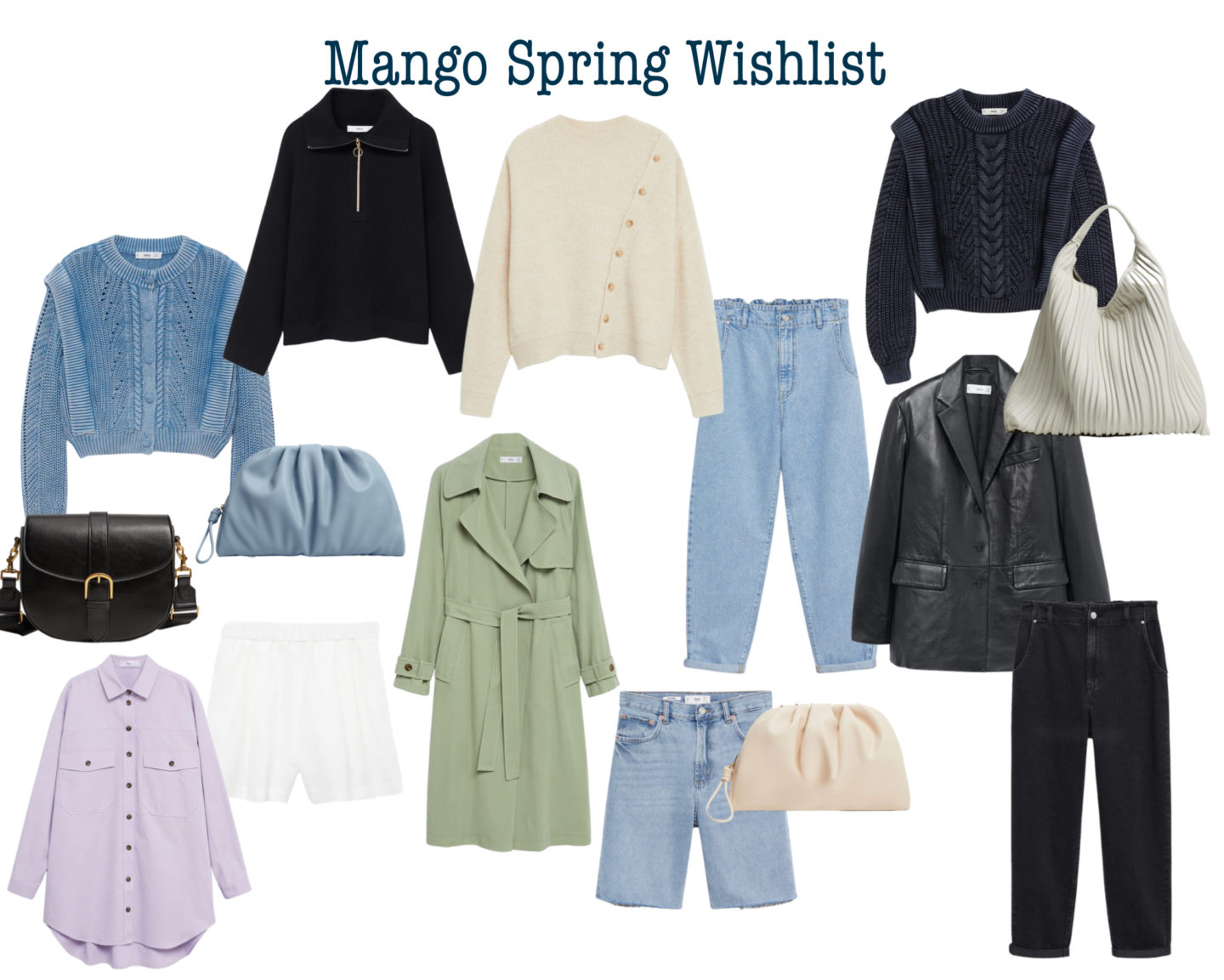 YOUR MUST HAVES Spring Collection from MANGO. GET IT NOW!