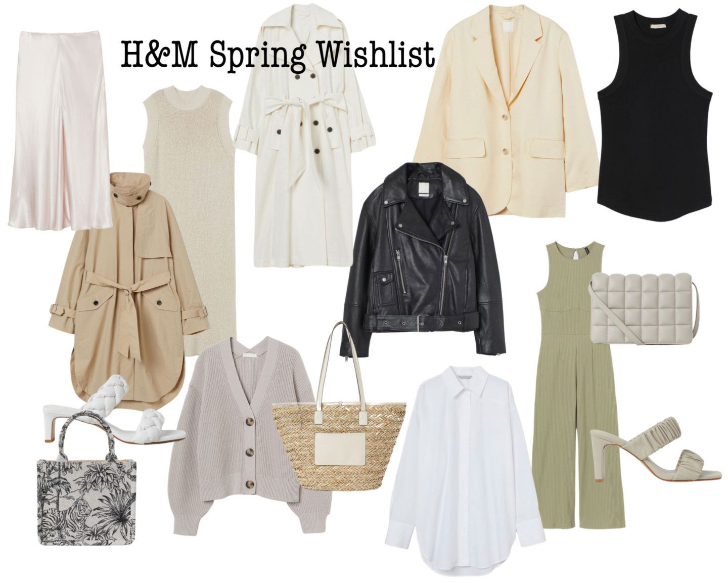 YOUR MUST HAVES Spring Collection from H&M. GET IT NOW!